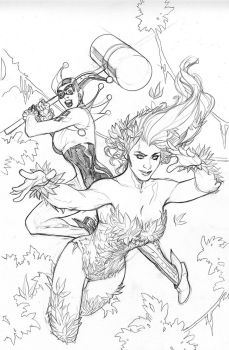Poison Ivy #1 Pencils by TerryDodson