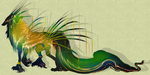 QuillDog Design: Neotropical Tribe Guardian CLOSED by MischievousRaven