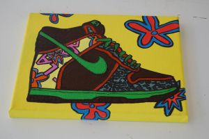 De La Soul Dunks by mikedestructive