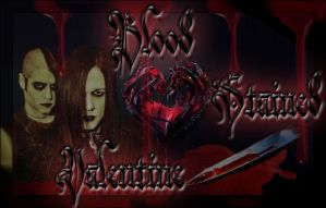 Blood Stained Valentine Cover Art by Gothic-Rebel