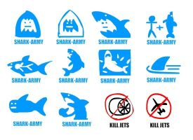 SHARK-ARMY THUMBS by PhiTuS