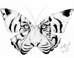 Tiger Wing Kisses by PrincessLaguia