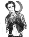 Andy Biersack - Black Veil Brides 2 by SmoothCriminal73