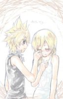 Namine and Roxas by Forever44