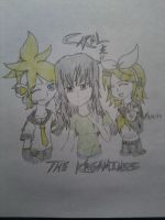 Carol And The Kagamines by LeMiles13