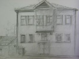 Love old things [An old house] by noQaJ