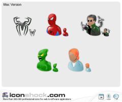 Spiderman Icons by Iconshock