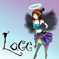 -PSwG OC- Lace_black wing ver_ by Junko-Ishi
