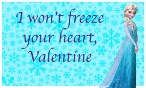 Frozen Valentine- Elsa by HelloKeegs