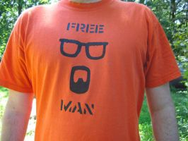 Half Life 2 'Free Man' shirt by idolminds