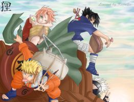 Team 7 by Uchiha-Texugo