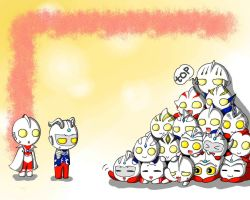 Ultraman Stack by Beat-beat-Cute