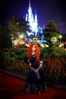 Merida at Magic Kingdom! by Thecrystalshoe