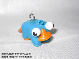 Perry the Platypus Charm by Mighty-Morphin-Mimi