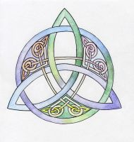 Celtic Knot by Soko-Ikovan