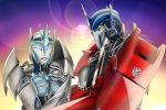 Electronia and Optimus Commission by Lady-ElitaOne