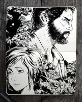 #324 The Last of Us by 365-DaysOfDoodles