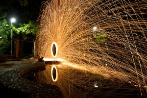 pond of fire by milanino