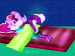 Fifi Asleep in Bed by Fifi-La-Fume-Club