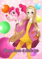 Honeylemon and Pinkie by allwellll
