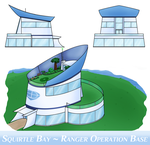 Squirtle Bay Ranger Headquarters - Outside by Gleaming-Hope
