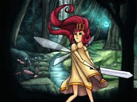 Child of Light by Meorow