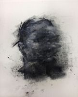 [165] Untitled Oil and Charcoal On Canvas 24 X 2 by ShinKwangHo
