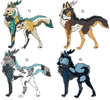 Dracon Hund Adoptable Sheet by Swaps-Adopts