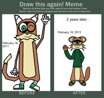 Redraw Billy meme 2 by FluffyFerret97
