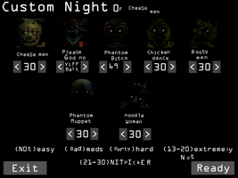 Custom Night of Cheese Man by Koruthedeathumbreon