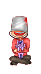 Chibi Soldier - TF2 and... MLP? by MewYare