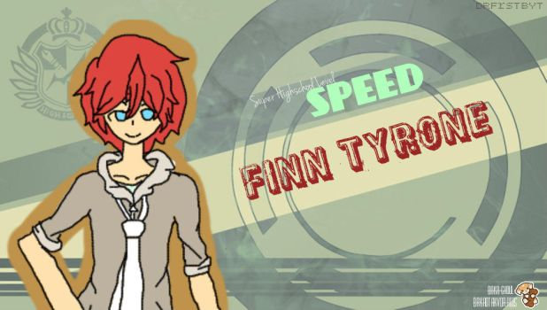 Finn Tyrone AKA DRfrstbyt 's SPHSL Speed! by Baka0takvDraws