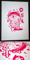 Hunter Screenprint Three by SuperFex