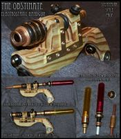 Steampunk Style Prop Gun: The Obstinate by Sathiest-Emperor
