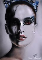 Return Black Swan by blondedoll