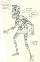 27 - Zebra Man by DBed