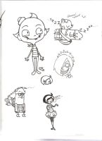 Flapjack doodles 1 by a-song-unsung