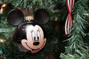 Minnie Mouse Ornament by LDFranklin