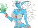 World of Warcraft - Queen Azshara by Tyrannuss555