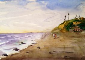 Sunny evening at Solana beach with Keiko Tanabe by VLStone