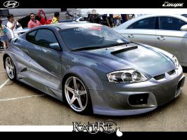 Hyundai Coupe by katre-design