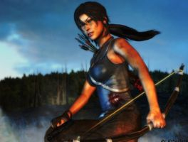 Tomb Raider:Lara Croft wallpaper by ethaclane