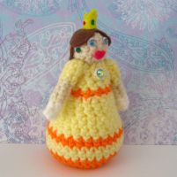 Daisy Amigurumi Doll by MadameWario