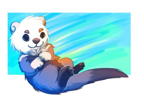 Otterluv by Pand-ASS