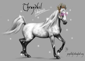 HOBBIT horses - Thranduil by Propilley