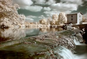 Moulin de la Roche II by Anrold
