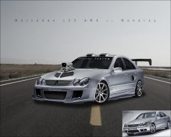 Mercedes C55 AMG Tuning by monarxy