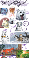 Iscribble dump 2009-now by Daesiy