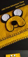 Jake from Adventure Time 3ds pouch by skwara96