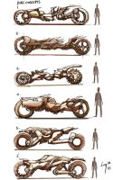 motorbike concepts by VincentGordon
